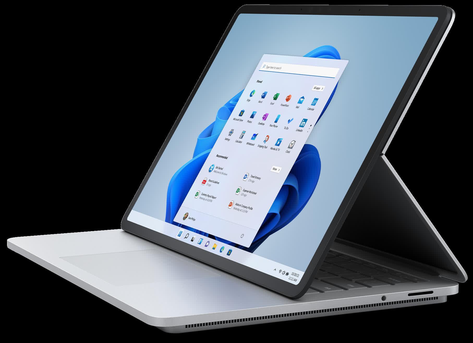 1632339909 536 Microsoft devoile Surface Laptop Studio sa Surface la plus audacieuse