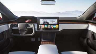 Le Nouveau Joug De Direction De Tesla A L'air Futuriste