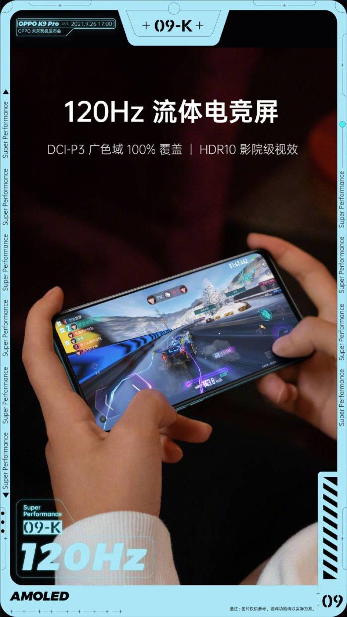OPPO K9 Pro : ses principales spécifications confirmées avant son lancement