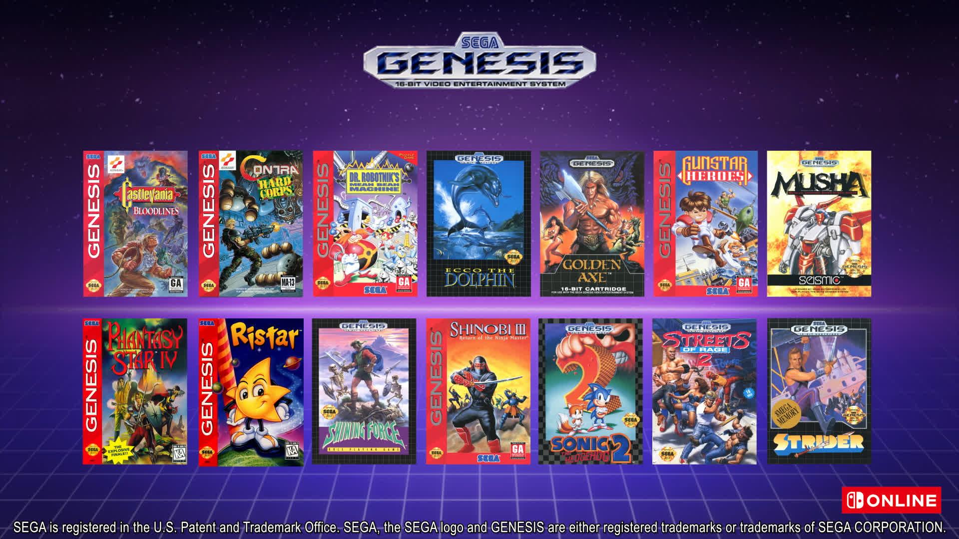 1632500111 60 Nintendo apporte les jeux N64 et Genesis sur Nintendo Switch