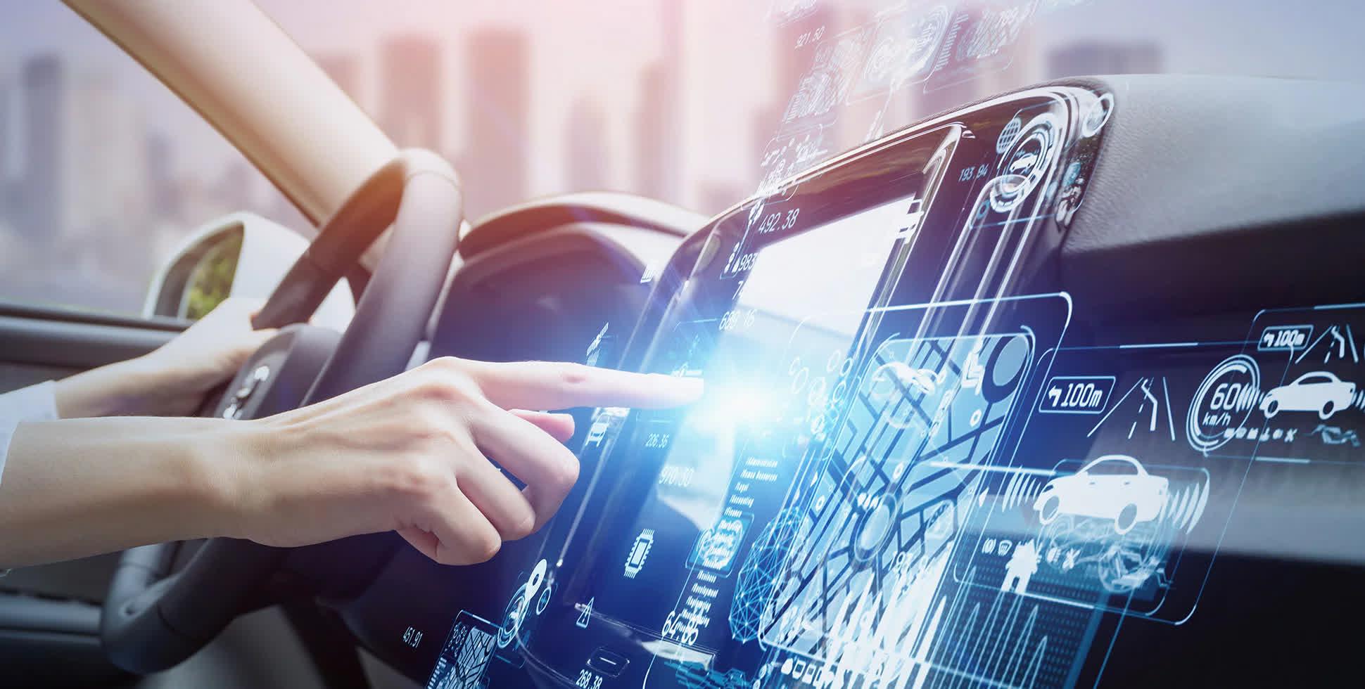 Arm travaille pour activer la voiture definie par logiciel