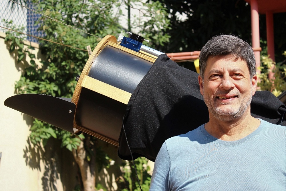L'astronome amateur José Luis Pereira