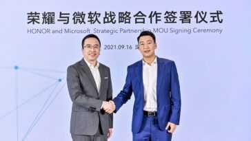 Honor Et Microsoft Signent Un Accord De Collaboration Sur Windows