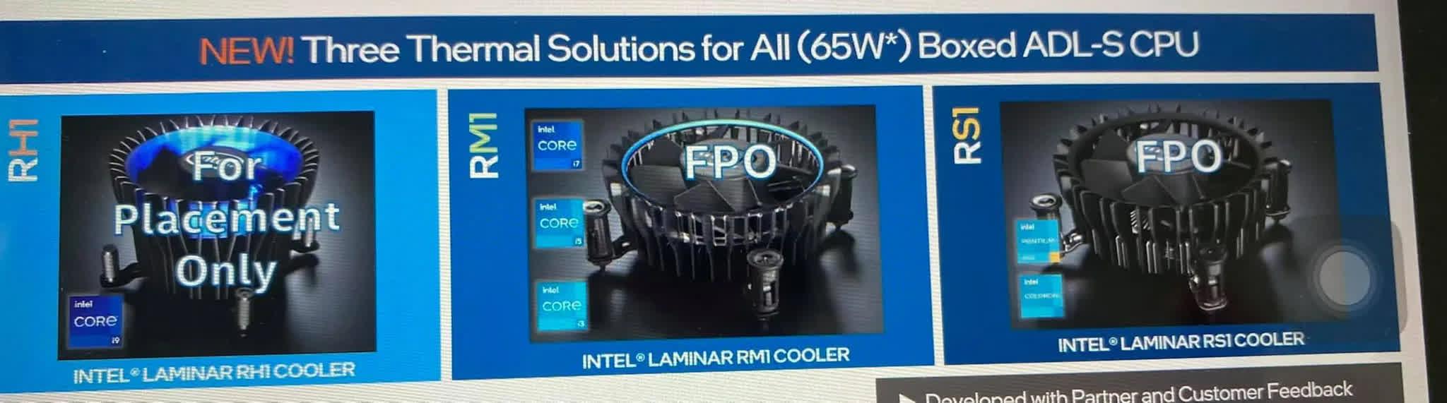 Intel experimente de nouvelles conceptions de refroidisseurs de stock pour