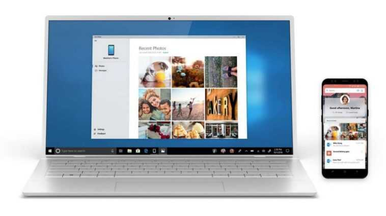 L'application Your Phone Changera également De Design Avec Windows 11