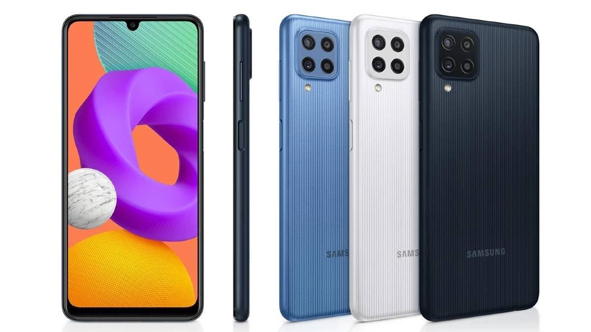 Samsung Galaxy M22 principal