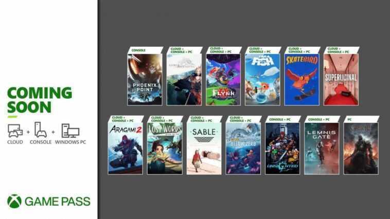 Le Xbox Game Pass De Microsoft Obtient 12 Nouveaux Titres