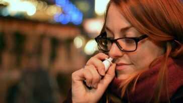 Le Sexe Libère Le Nez Comme Un Spray Nasal