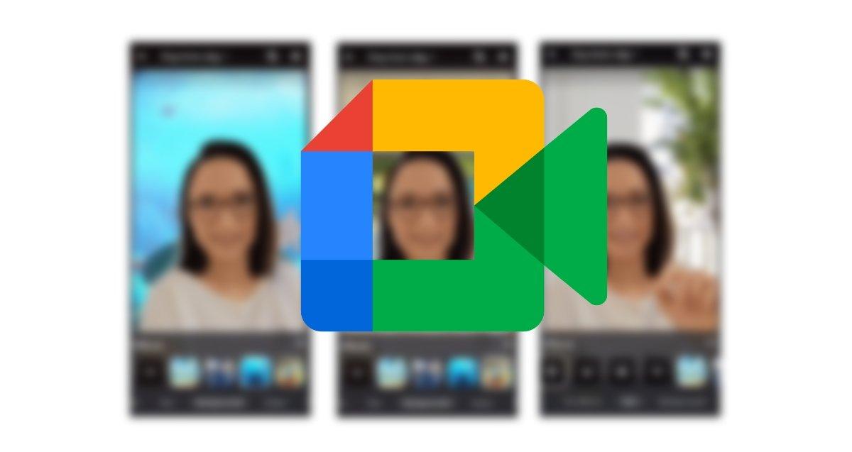 Fonds d'écran animés GoogleMeet