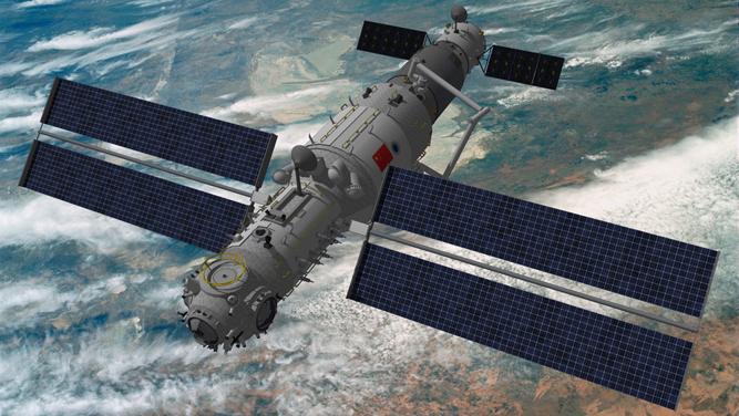 Les astronautes chinois reviennent sur Terre apres 90 jours dans