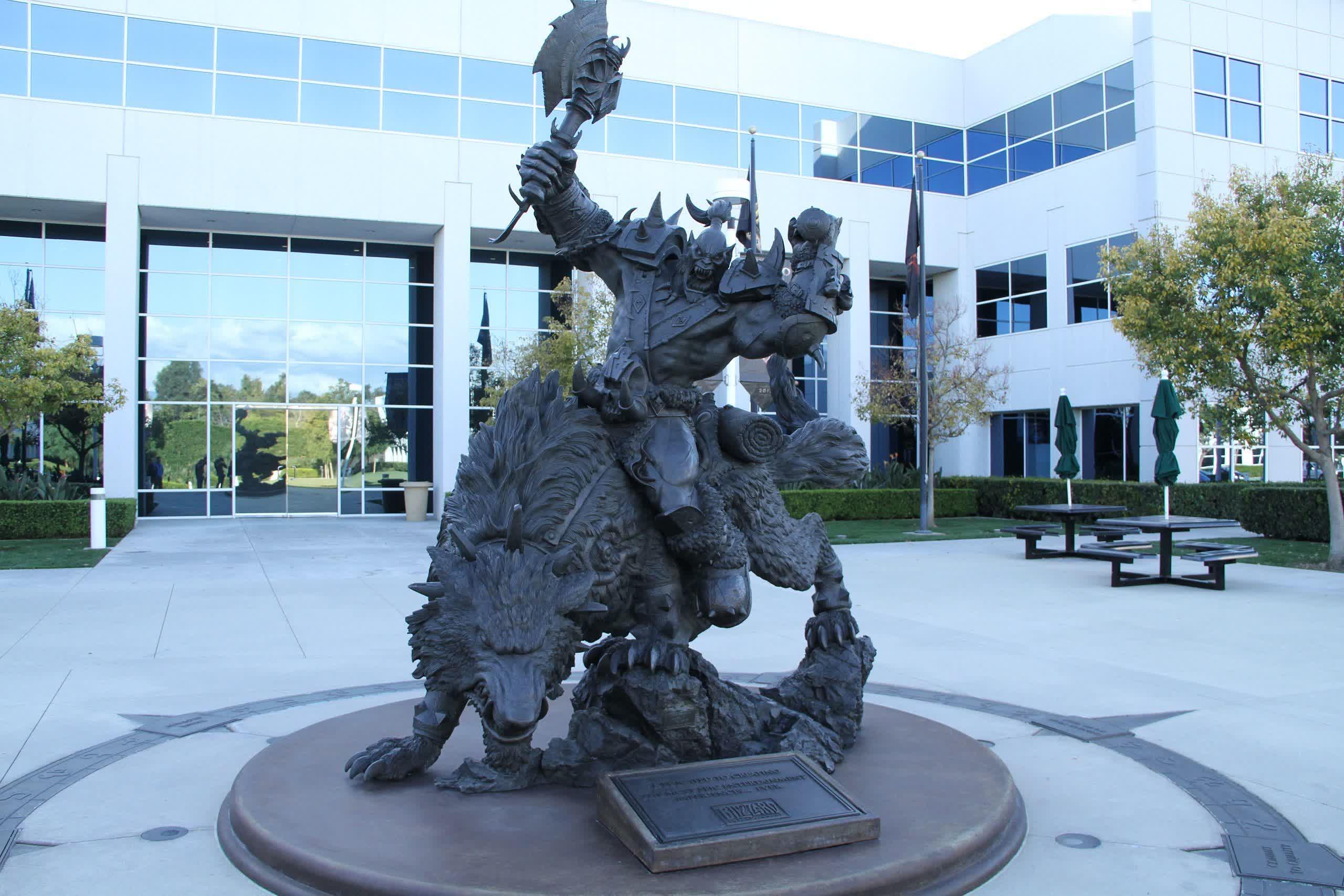 Les employes dActivision Blizzard CWA deposent une plainte pour pratiques