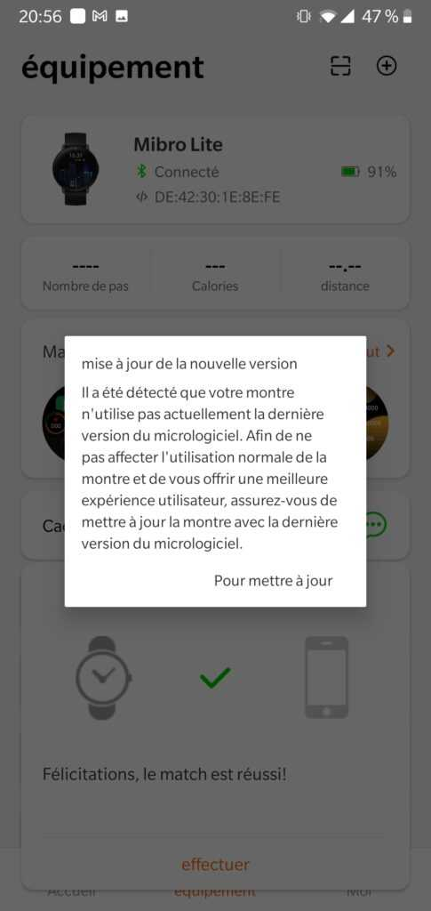Mibro Fit Application 3