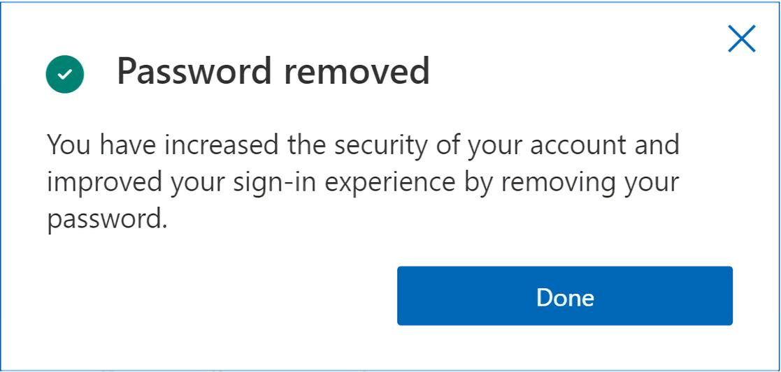 Microsoft ajoute une option sans mot de passe pour lacces