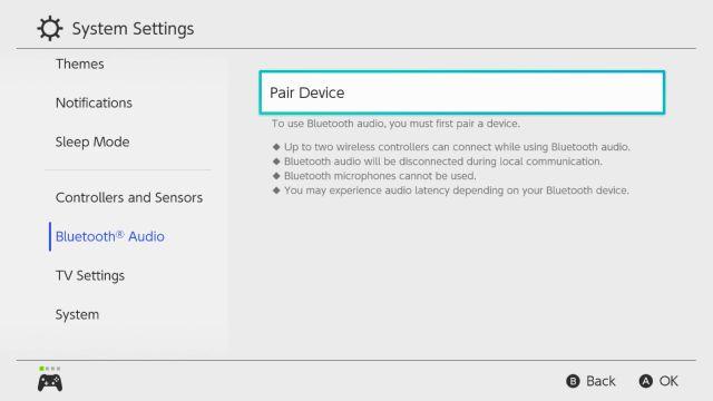 Nintendo Switch est mis à jour vers la version 13.0.0
