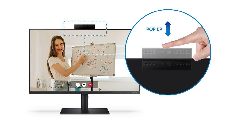 Samsung devoile un nouveau moniteur axe sur la WFH avec
