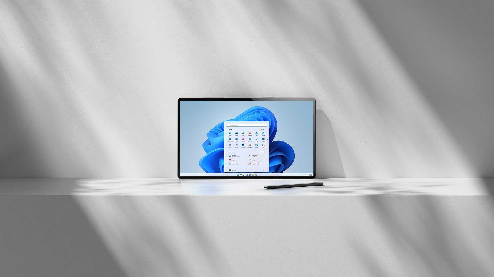 Image promotionnelle de Windows 11