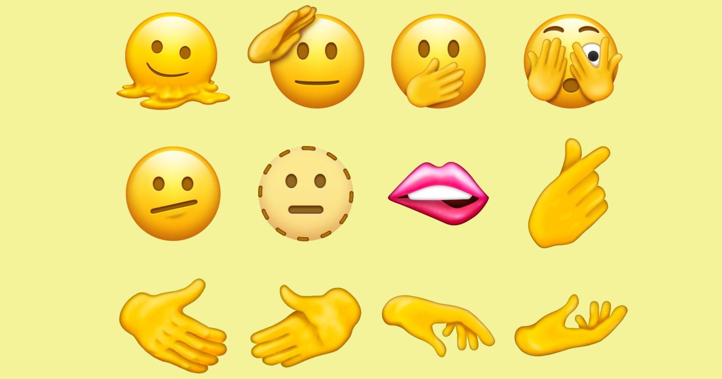 Nouveaux emojis pour 2021