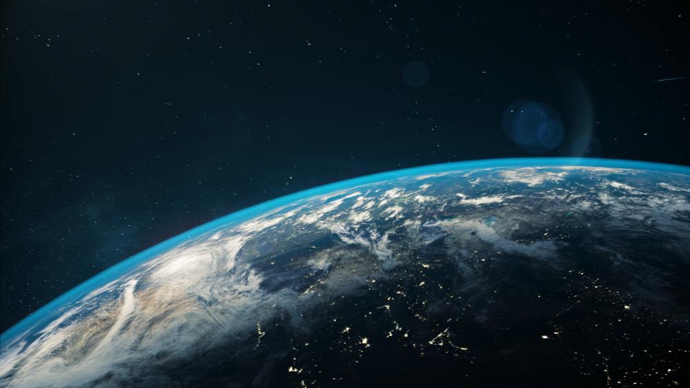 Image de la Terre, qui avec Vénus, aurait été formée par plusieurs chocs, selon une étude