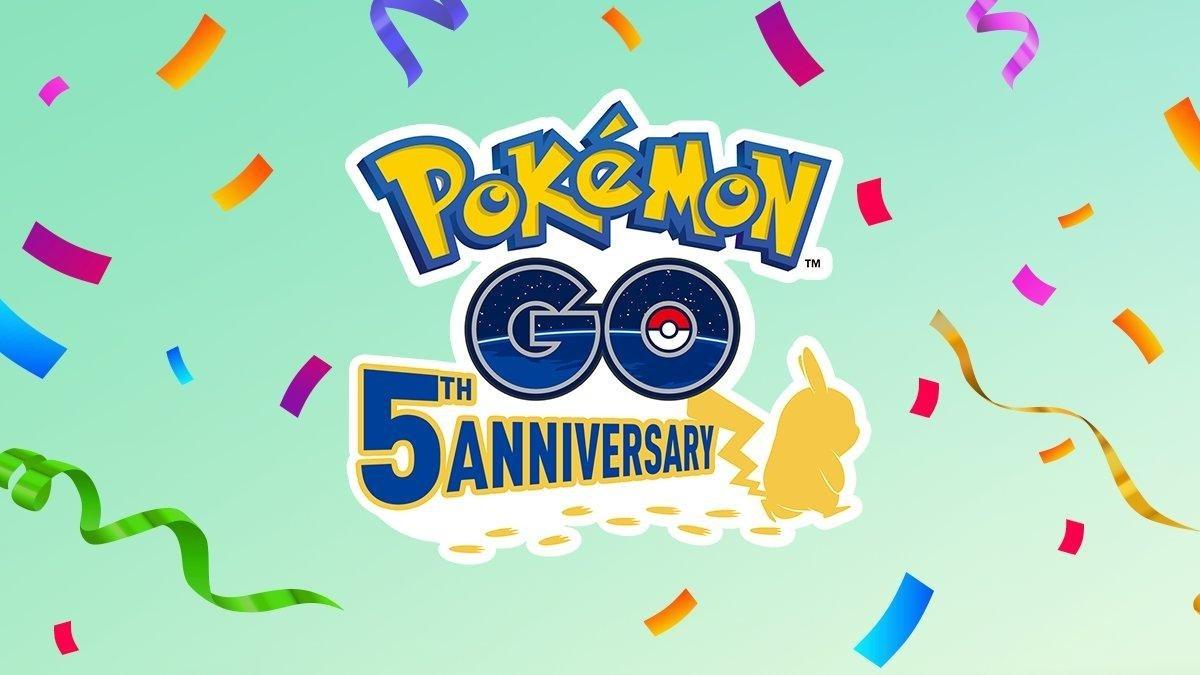 Vidéo du 5e anniversaire de Pokémon GO