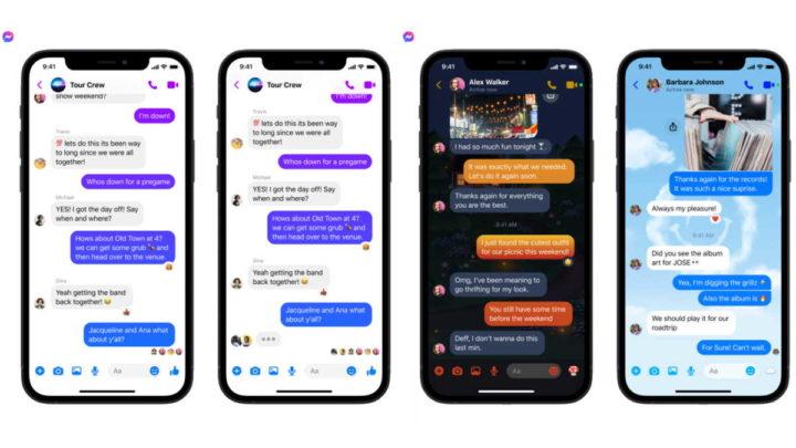 Facebook Messenger Groupes Instagram Messages