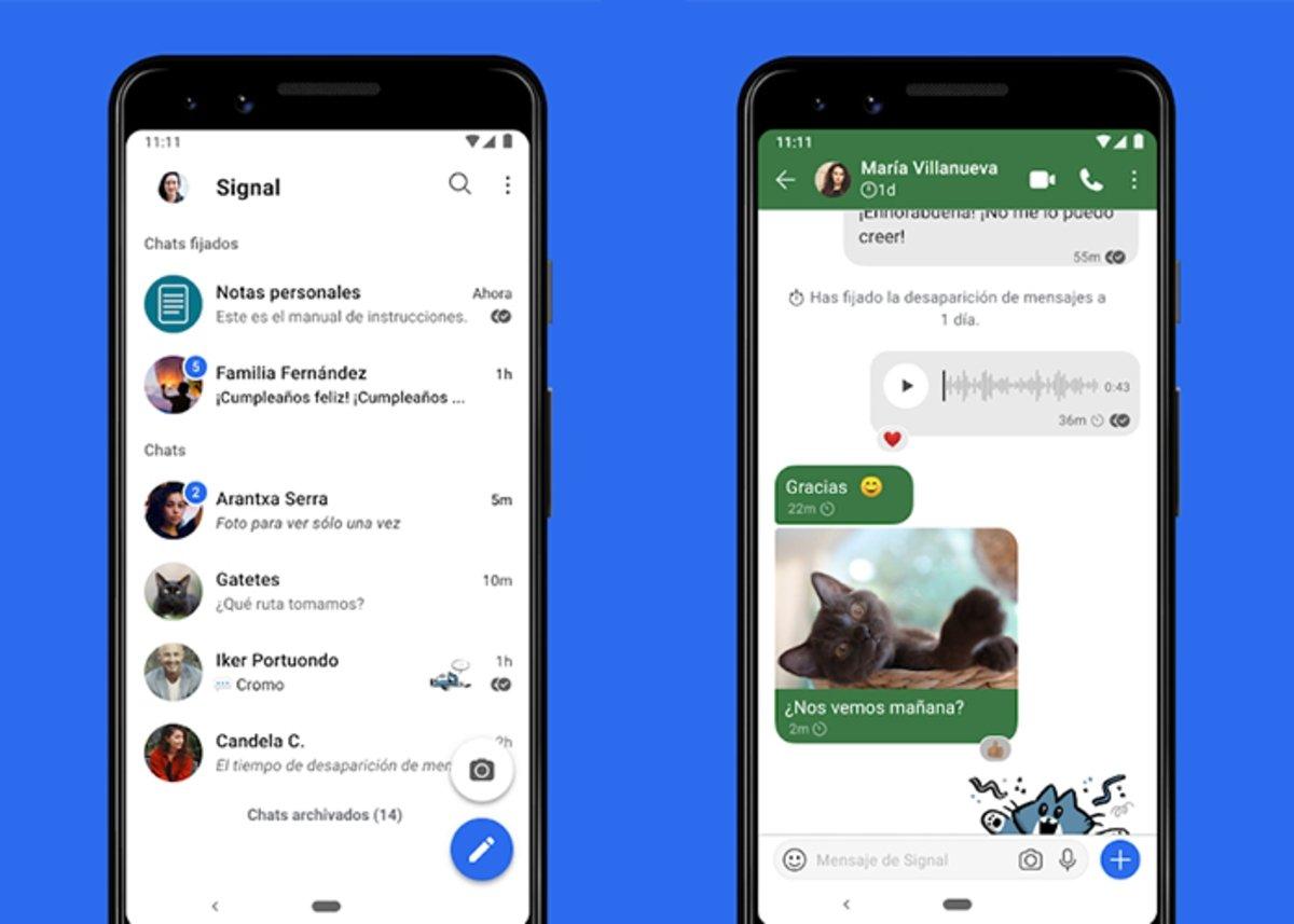 Signal est la meilleure option pour WhatsApp