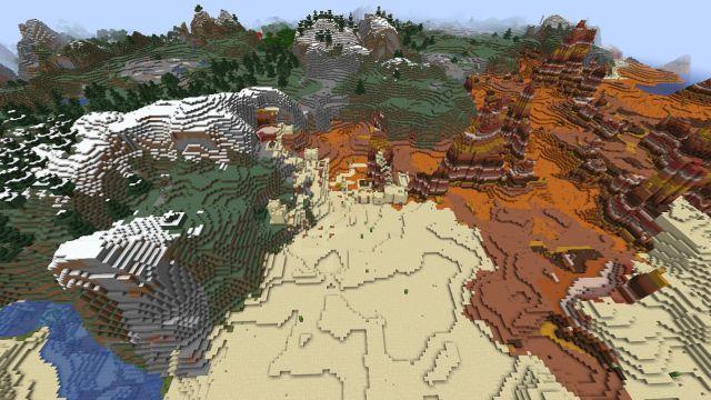 10 meilleures graines Minecraft 1.17.1 octobre 2021 cartes biomes Java Bedrock