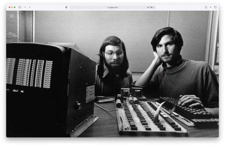 Steve Jobs et Steve Wozniak chez Apple alors fondée