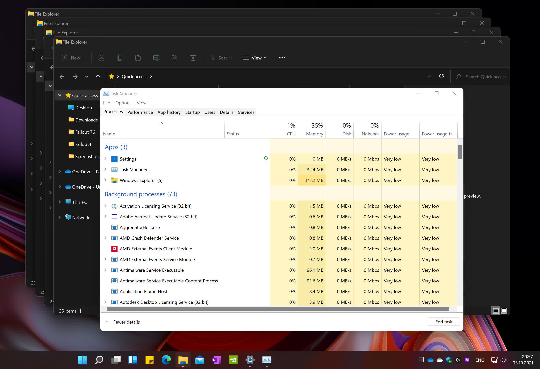 1633460606 904 Windows 11 est maintenant disponible fuites de memoire et sacrifices