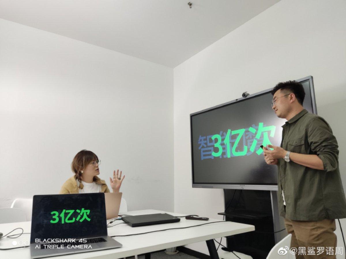 Le Xiaomi Black Shark 4S dévoile l'une de ses principales caractéristiques quelques jours avant sa présentation