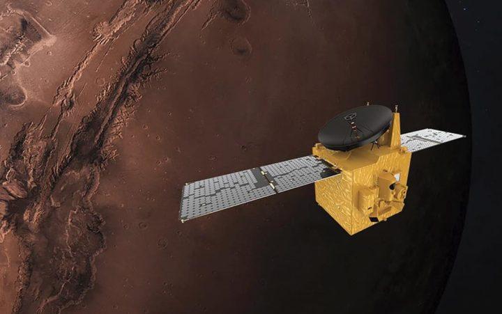 La sonda muestra altas concentraciones de oxígeno en la atmósfera marciana.