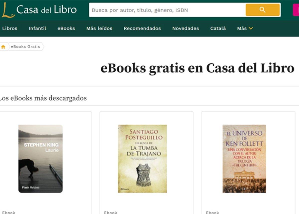 Casadellibro : eBooks gratuits à télécharger
