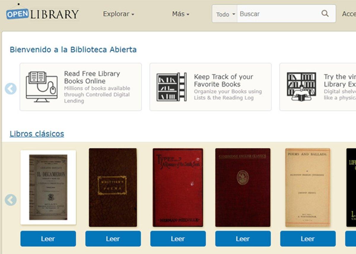 OpenLibrary : bibliothèque ouverte en ligne