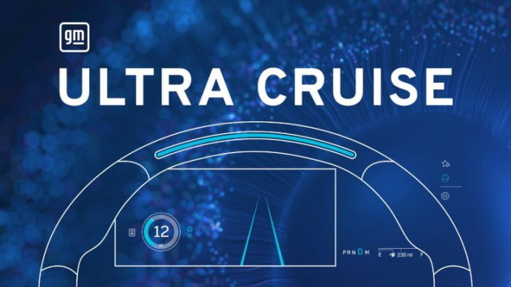 """Ultra Cruise, le système """"mains libres"""" de GM"""