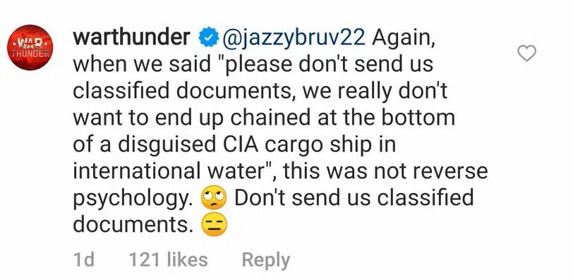 1633949467 630 Les joueurs de War Thunder continuent de divulguer des documents