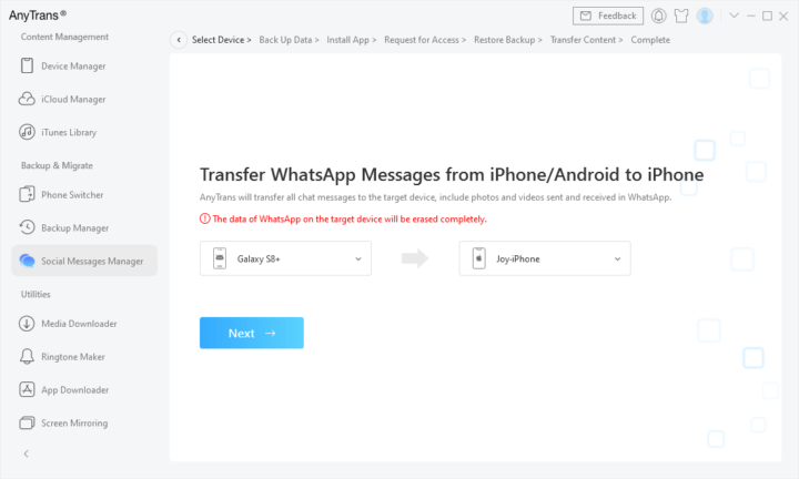 1634064324 674 Comment transferer facilement des messages WhatsAPP dAndroid vers iPhone