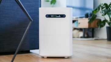 L'humidificateur évaporatif Smartmi 2 Est Un Humidificateur élégant Compatible Avec