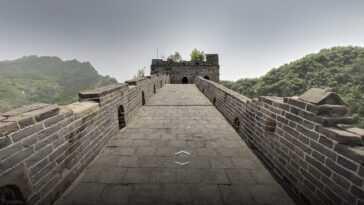 Avec Google, Vous Pouvez Parcourir La Grande Muraille De Chine