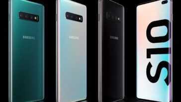 Les Samsung Galaxy S10 Reçoivent Déjà La Mise à Jour