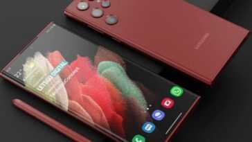 Le Samsung Galaxy S22 Ultra pourrait inclure un changement radical de conception si cette rumeur se confirme