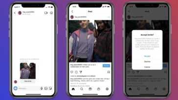 Instagram Lance Une Fonctionnalité Qui Permet à Deux Utilisateurs D'être