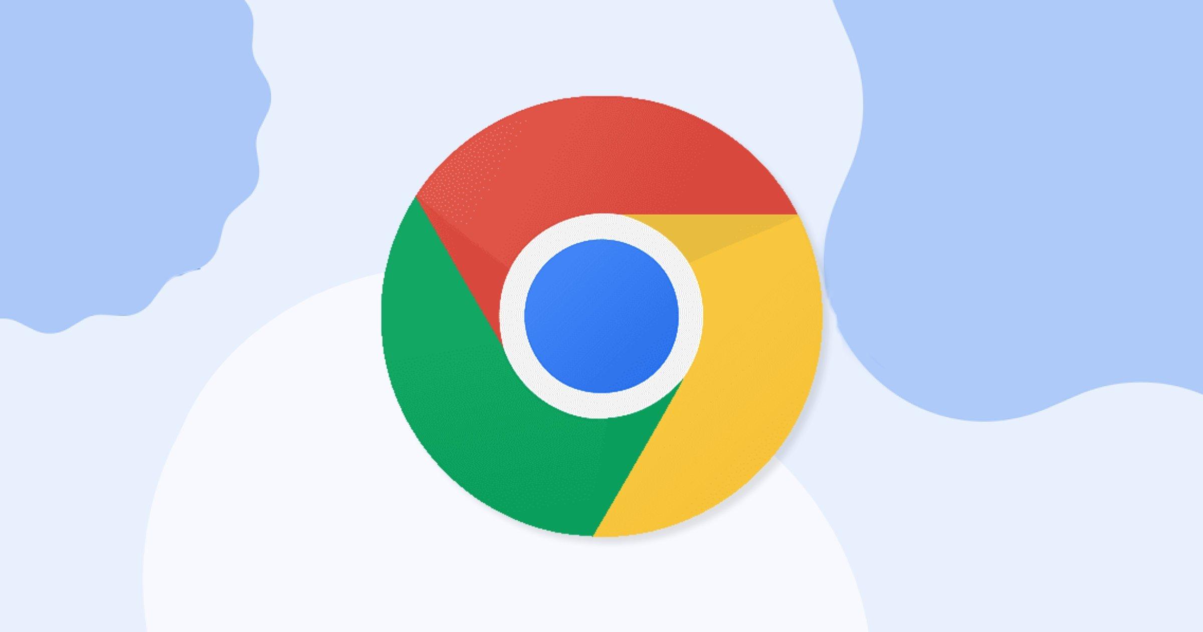 Google Chrome avec le design Material You