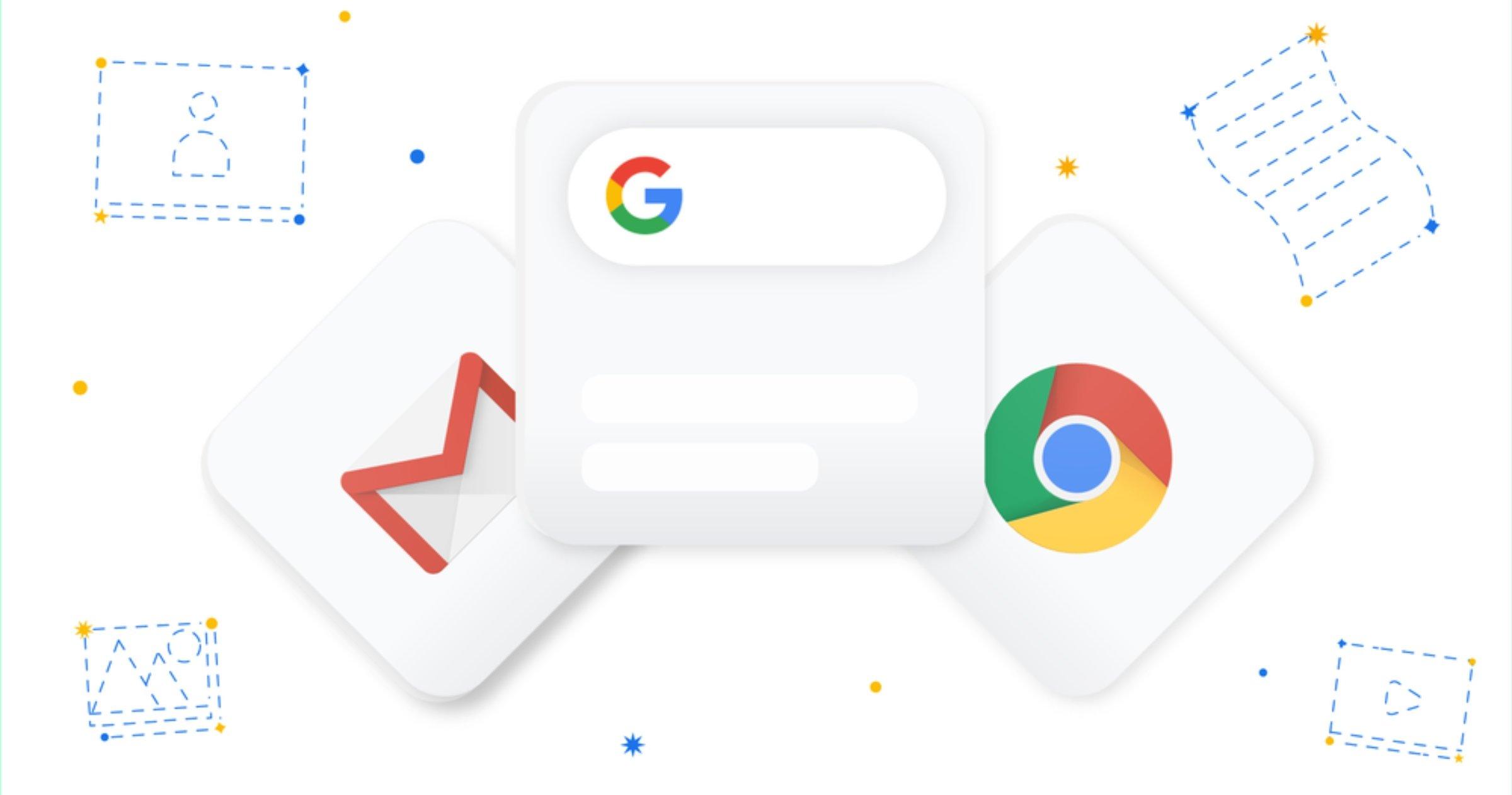 Google Apps pour iOS