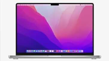 """Parce Qu'il Y A L'""""encoche"""" Même Sur Le Macbook Pro"""
